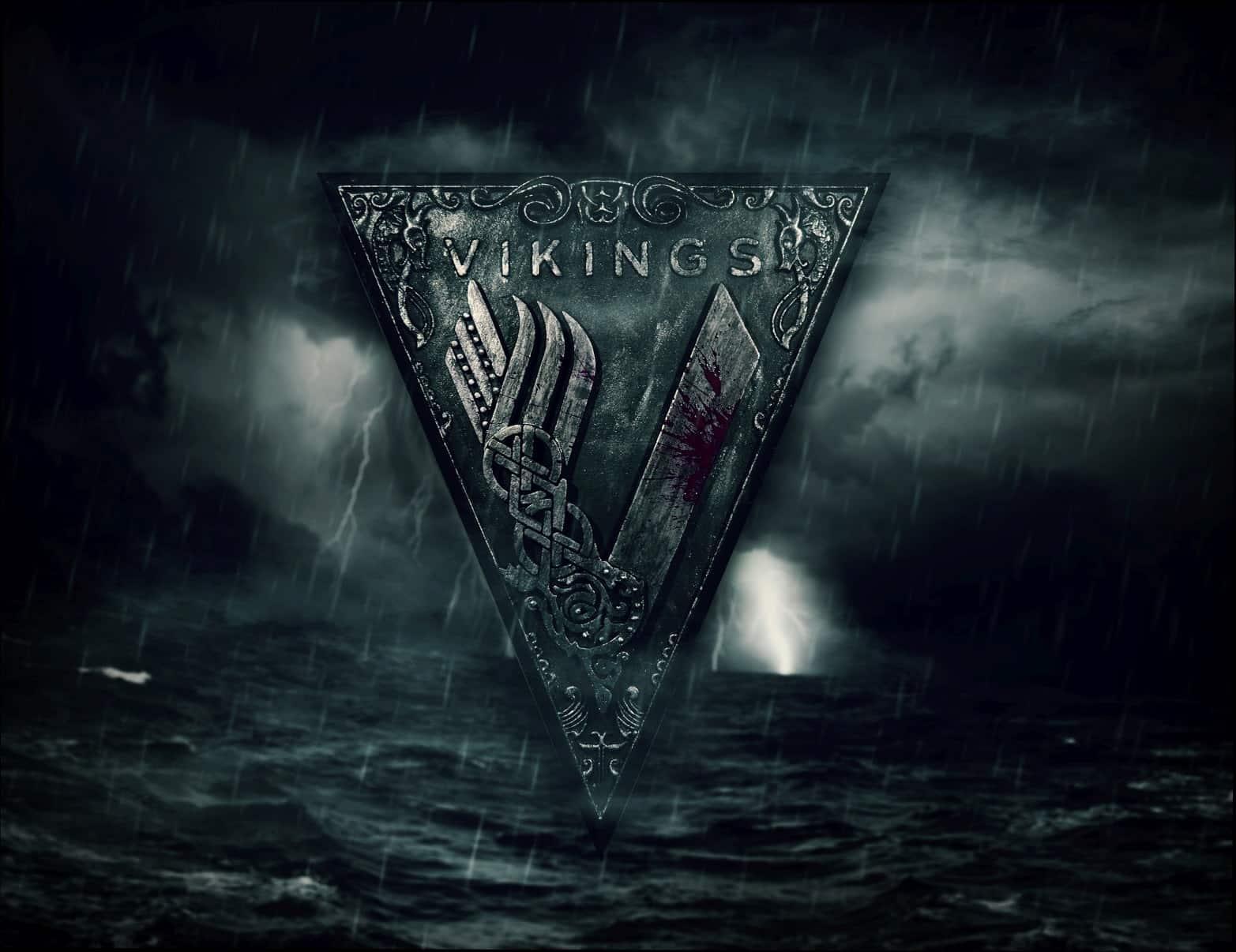Vikings Series Logo Wall Deocration