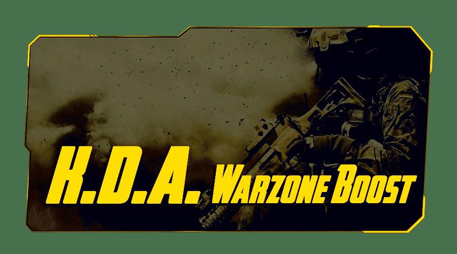 KDA boost in Warzone