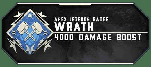 Apex Legends Wrath Badge Boosting services