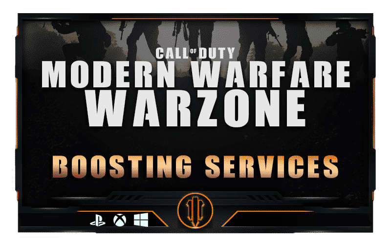Call of Duty Modern Warfare & Warzone Boosting services-min