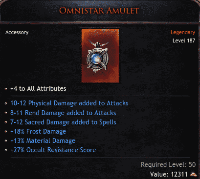 Omnistar Amulet