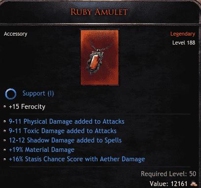 Ruby Amulet