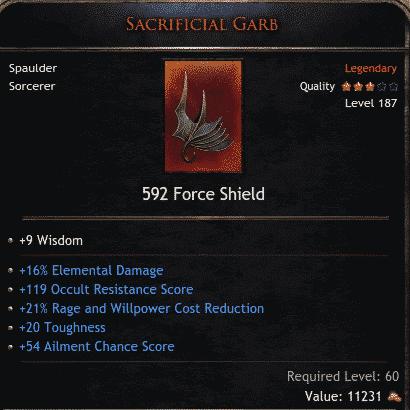 Sacrificial Garb