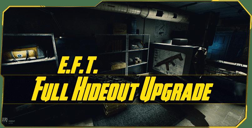 Escape from Tarkov Full Hideout Upgrade boost-min