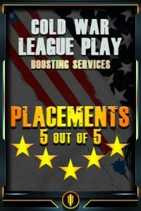 COD BO COLD WAR - League Play Placements Boost-min