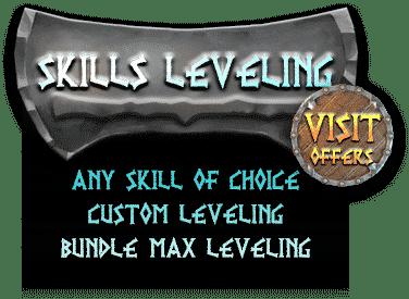 Valheim Skills Leveling Boosting services - Visit Offers