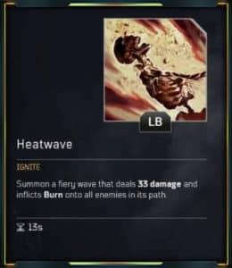 Outriders Pyromancer - Heatwave