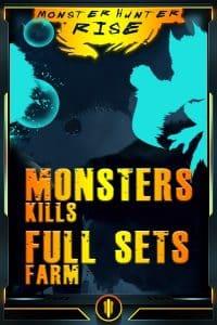 Monster Hunter Rise Boosting services - Monsters & Sets Farm-min