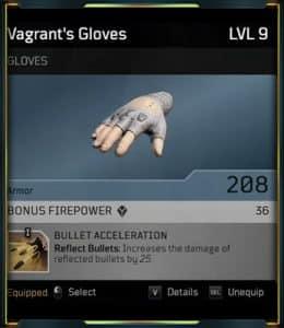 Outrider Devastator - Bullet Acceleration