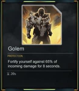 Outrider Devastator - Golem