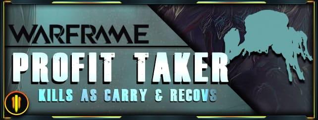 Warframe Boosting - Profit Taker Kill Carry & recov-min