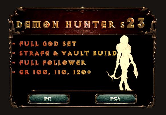 demon hunter s23 god build