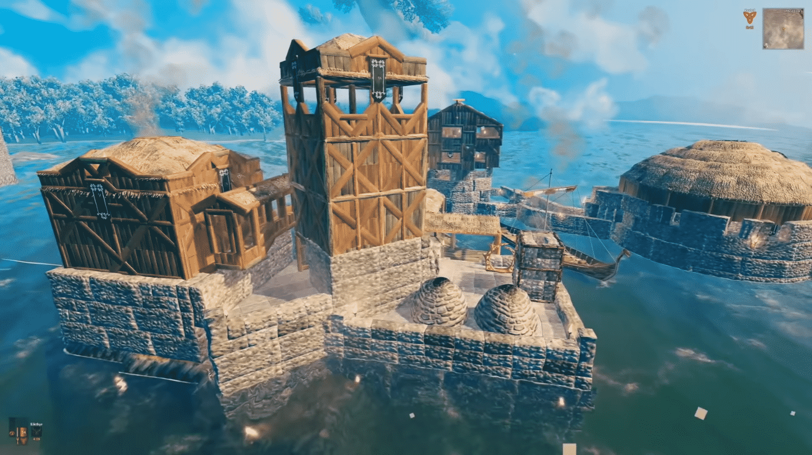 valheim dock