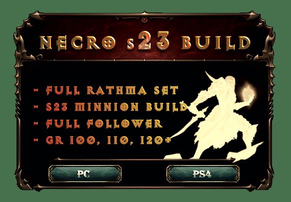 necromancer s23 build rathma