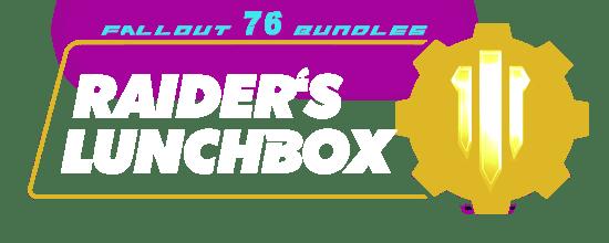 Fallout 76 Bundles - RAIDER'S LUNCHBOX-min