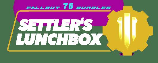 Fallout 76 Bundles - SETTLER'S LUNCHBOX-min