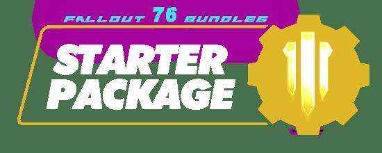 Fallout 76 Bundles - Starter package-min