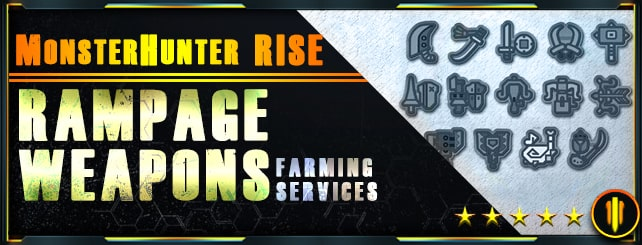Monster Hunter Rise - Rampage Weapons Farm-min