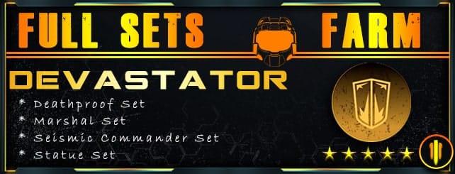 Outriders Full Sets Farming - Devastator-min
