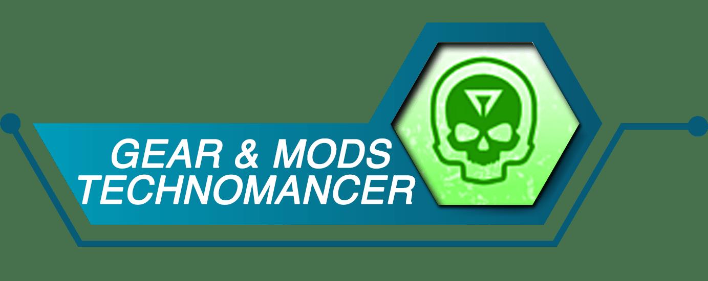 Outriders Gear & Mods - TECHNOMANCER-min