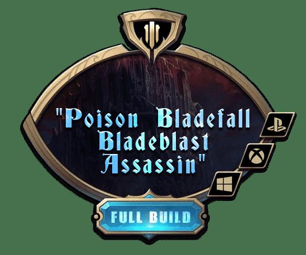 Path of Exile - Full Builds Farm - Poison Bladefall Bladeblast Assassin-min