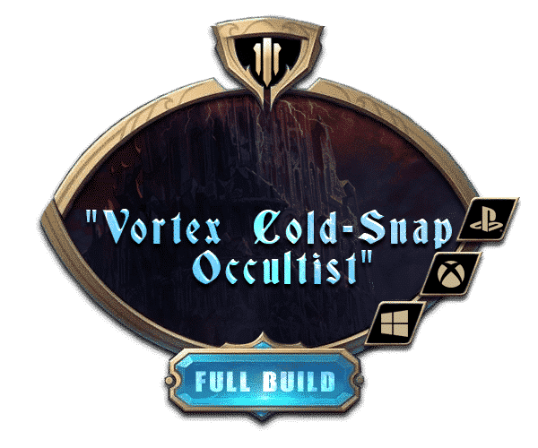 Path of Exile - Full Builds Farm - Vortex cold snap occultist-min
