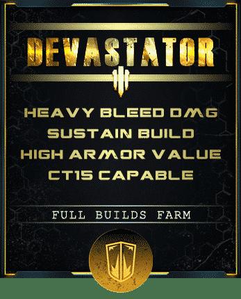 devastator bleed build outriders