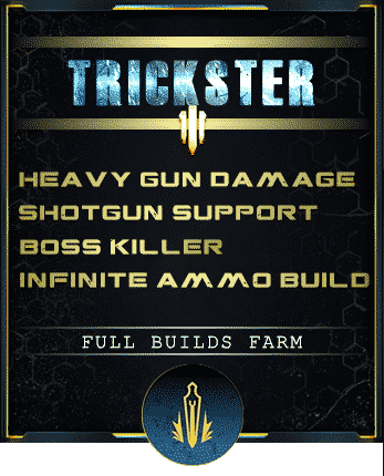 trickster assasin build shotgun