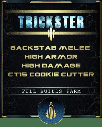 trickster backstab build