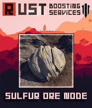 Buy Rust Materials - Sulfur Ore Node-min