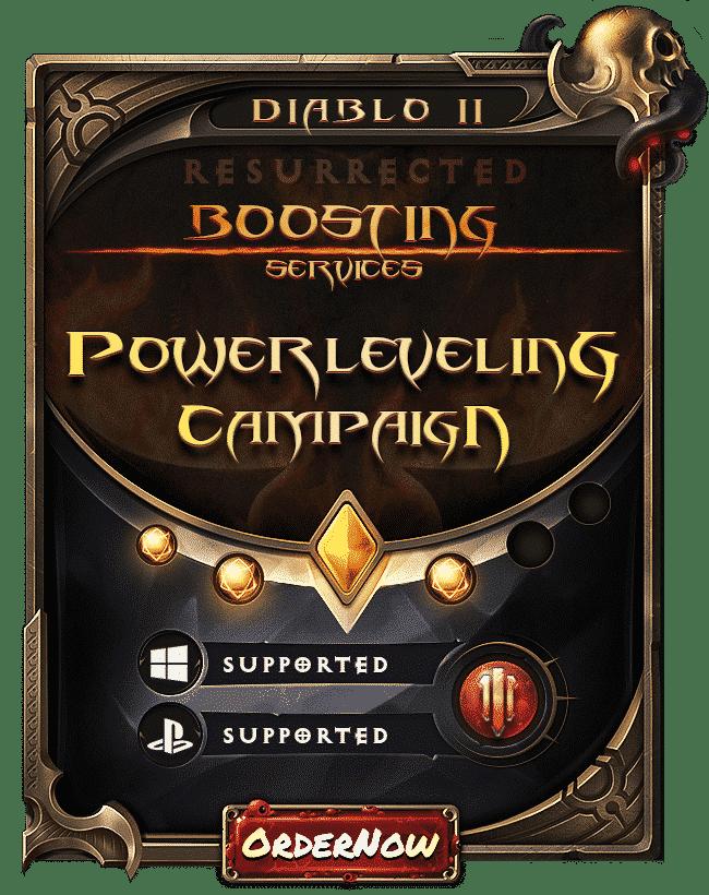 Diablo 2 Resurrected Boosting - Powerleveling & Campaign-min