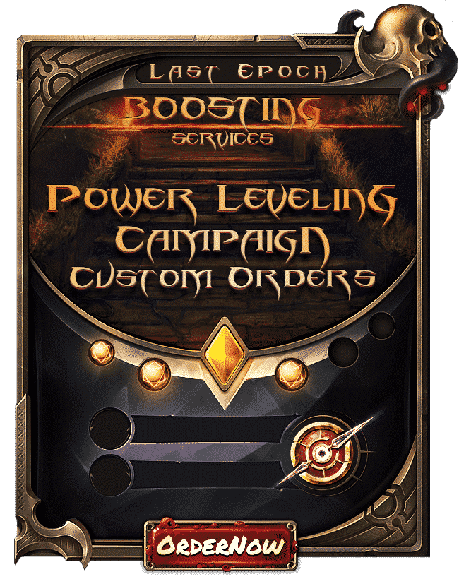 Last Epoch Boosting - Power Leveling & Campaign-min