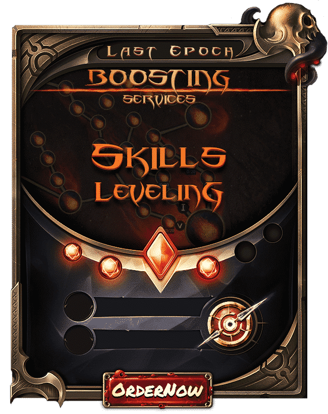 Last Epoch Boosting - Skills Leveling-min