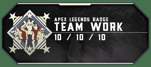Apex Legends Team Work - Badge Boosting services-min