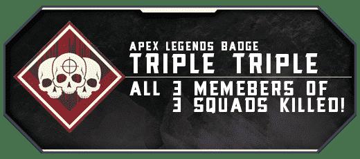 Apex Legends Triple Triple - Badge Boosting services-min