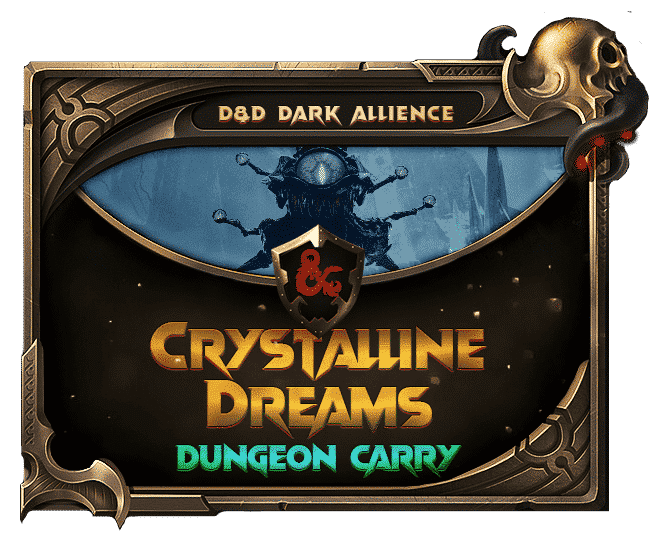 Dungeons Dragons Dark Alliance - Crystalline Dreams Dungeon Carry-min
