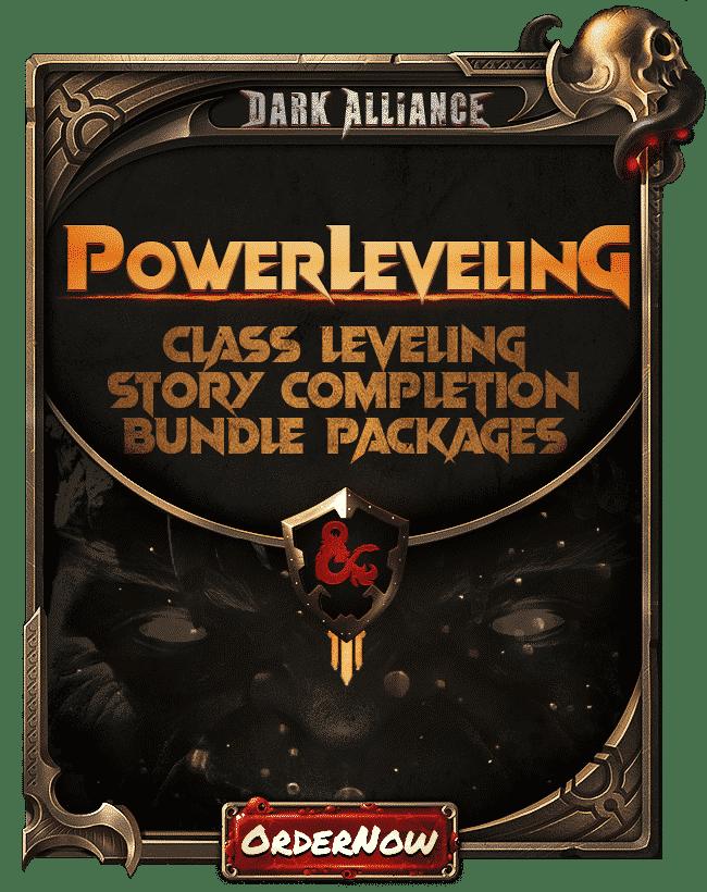 Dungeons Dragons Dark Alliance - Power Leveling Services-min