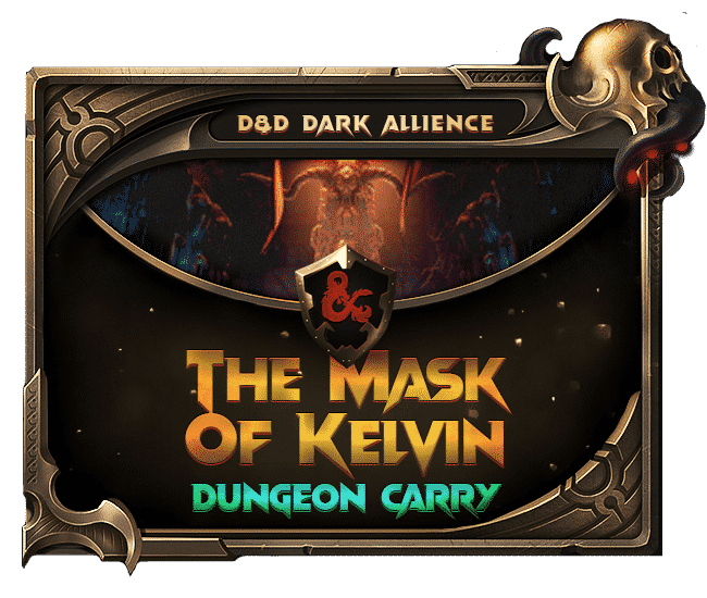 Dungeons Dragons Dark Alliance - The mask of Kelvin Dungeon carry-min
