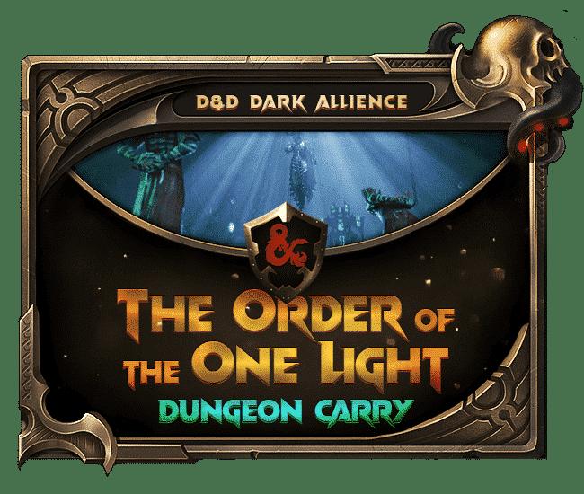 Dungeons Dragons Dark Alliance - The order of One Light-min
