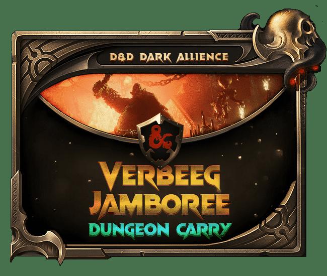Dungeons Dragons Dark Alliance - Verbeeg Jamboree Dungeon Carry-min