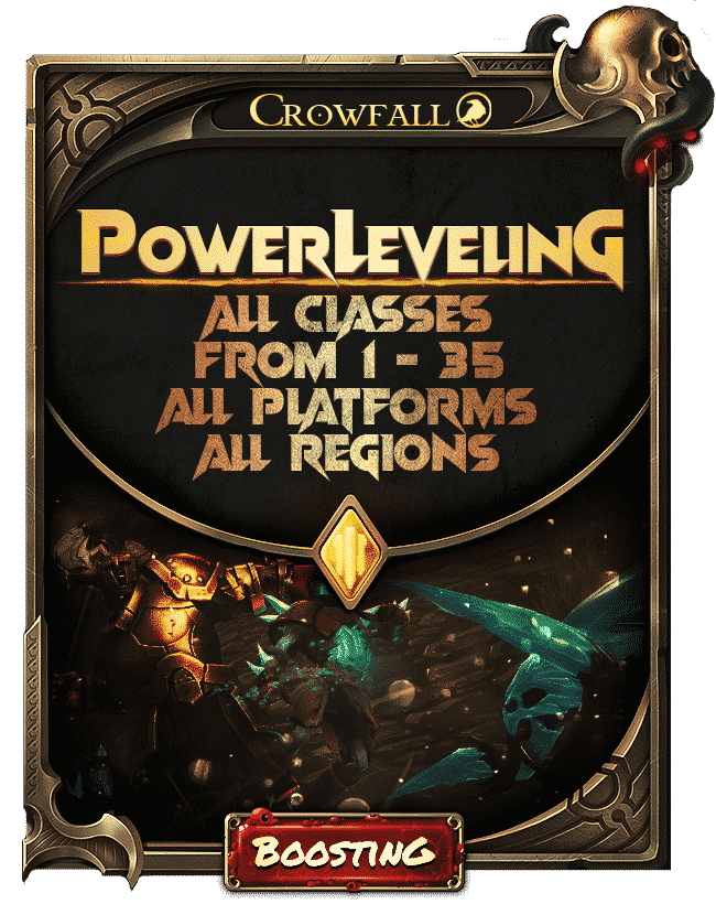 Crowfall Class Power Leveling - Order now 2