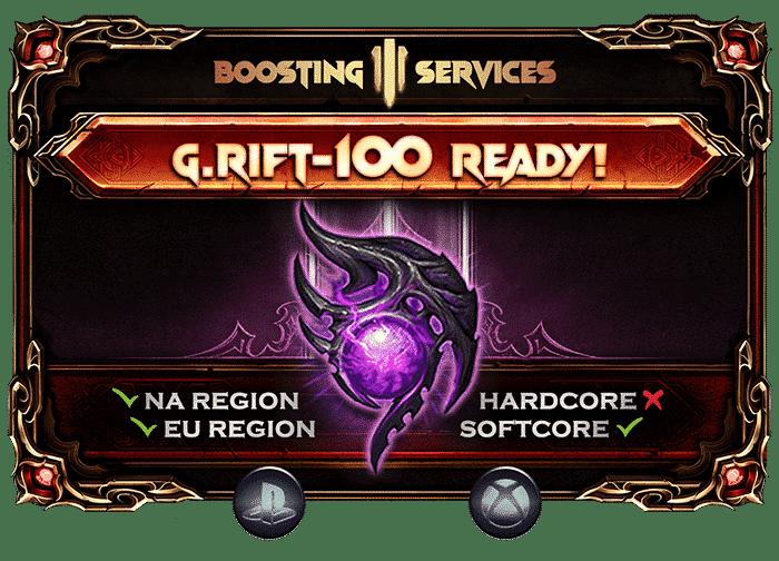Diablo 3 Boosting - Greater Rift 100 Ready PS & Xbox-min