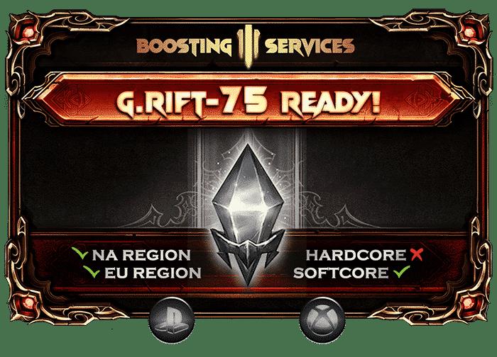 Diablo 3 Boosting - Greater Rift 75 Ready Ps & Xbox-min