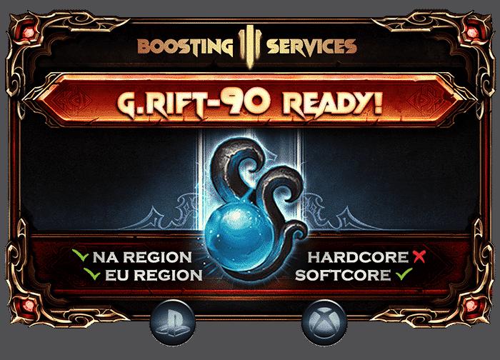 Diablo 3 Boosting - Greater Rift 90 Ready PS & Xbox-min
