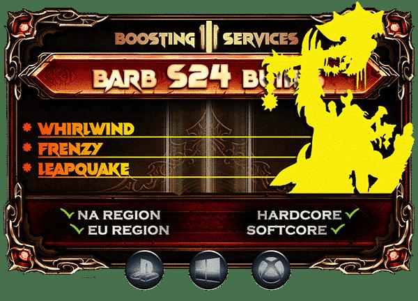 Diablo 3 Boosting Season 24 - Barbarian-min