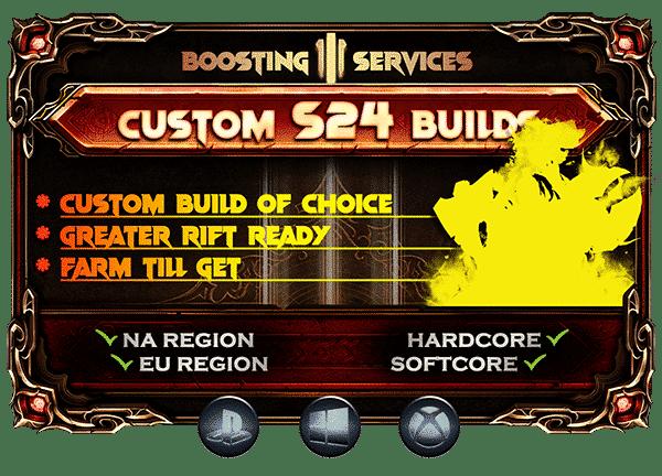 Diablo 3 Boosting Season 24 - Custom Build-min