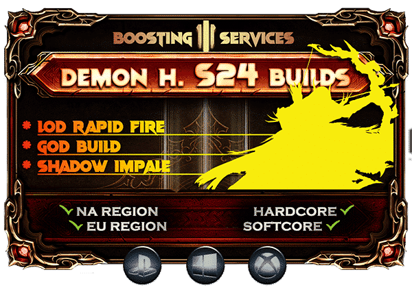 Diablo 3 Boosting Season 24 - Demon Hunter-min
