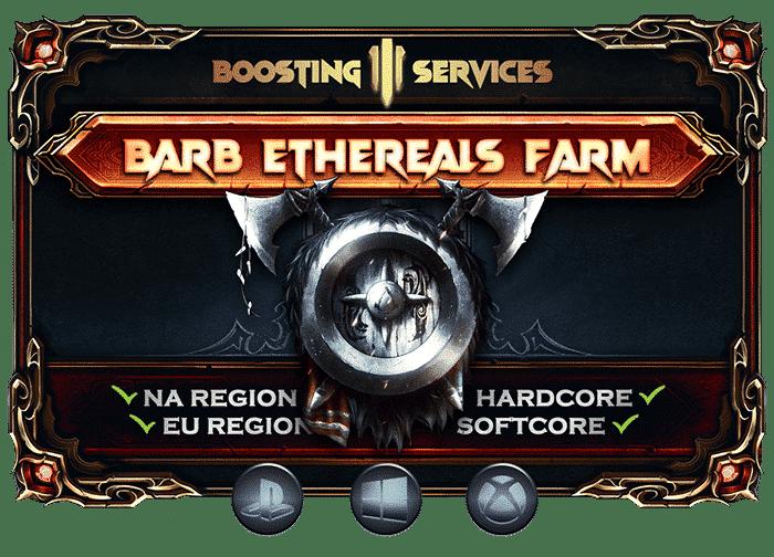 Diablo 3 Boosting Services - Barbarian Ethereals Farm-min