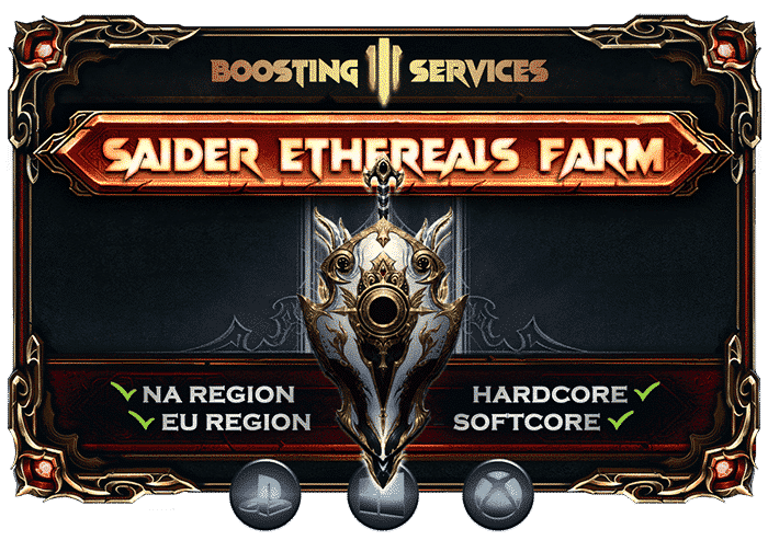 Diablo 3 Boosting Services - Crusader Ethereals Farm-min