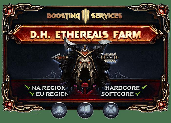 Diablo 3 Boosting Services - Demon Hunter Ethereals Farm-min